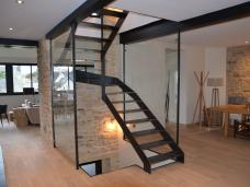 Escalier métal Quimperlé Finistère